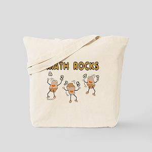 Math Rocks Tote Bag