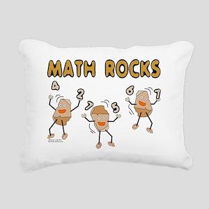 Math Rocks Rectangular Canvas Pillow