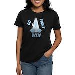 Lt. Blue GO..WIN Women's Dark T-Shirt