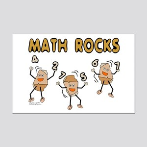 Math Rocks Mini Poster Print