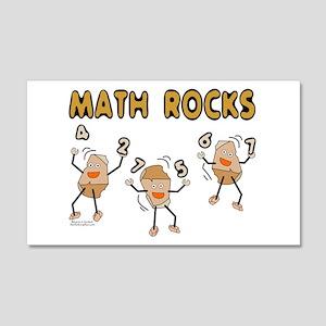 Math Rocks 20x12 Wall Decal