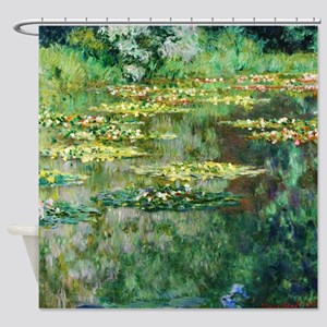 Water Lilies 1904 By Claude Monet Shower Curtain