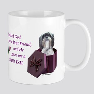 Shih Tzu (White, Black, Gray) Mug