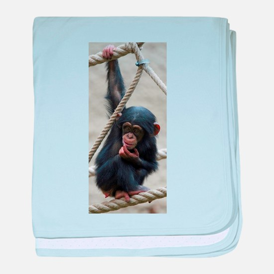 Primate baby blanket