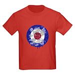 Mod Target Vintage Dragon Kids Dark T-Shirt
