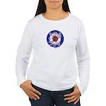 Retro Mod Target Women's Long Sleeve T-Shirt