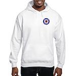 Mod Target FRONT & BACK Print Hooded Sweatshirt