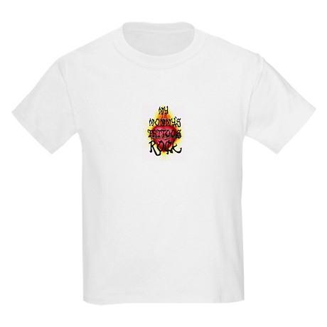 Mommy's Tattoo Rock Kids Light T-Shirt