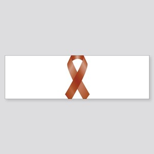 Burgundy Awareness Ribbon Bumper Sticker