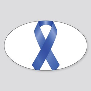 Blue Awareness Ribbon Sticker