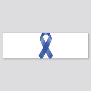 Blue Awareness Ribbon Bumper Sticker