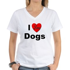 I Love Dogs Shirt
