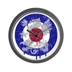 Mod Target Vintage Dragon Wall Clock