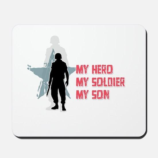 My Hero-My Son Mousepad