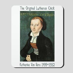 The Original Lutheran Chick Mousepad