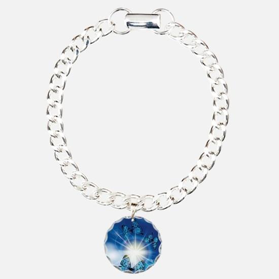 Cute Butterfly Charm Bracelet, One Charm