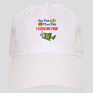 4d406d450f0 Hats. One Fish Two Fish I Catch Big Fish! Cap