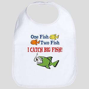 One Fish Two Fish I Catch Big Fish! Bib
