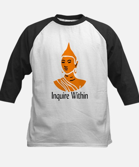 Inquire Within Kids Baseball Jersey