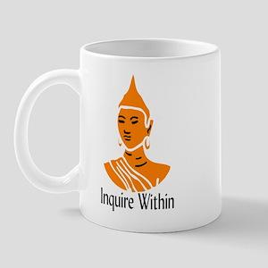 Inquire Within Mug
