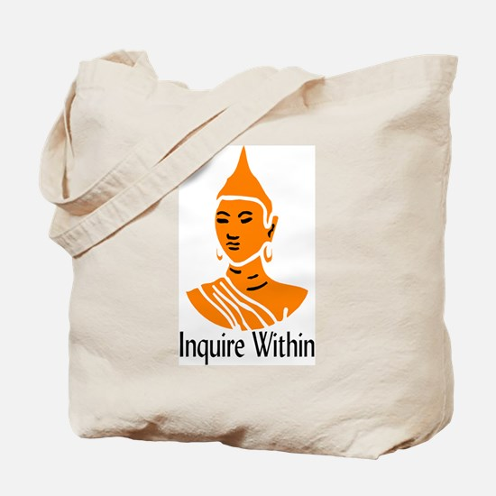 Inquire Within Tote Bag