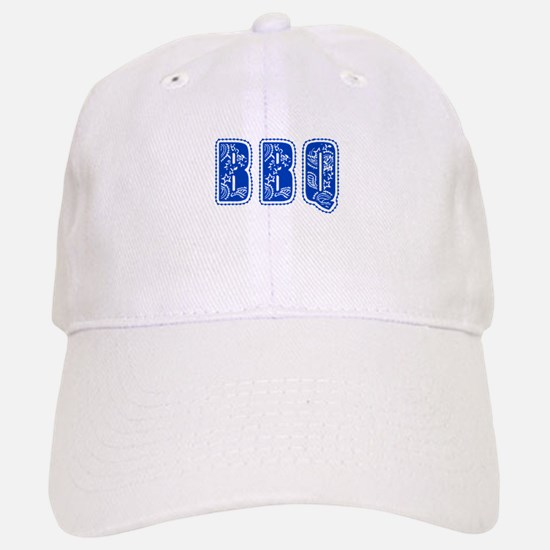 Red White & Blue BBQ Baseball Baseball Cap