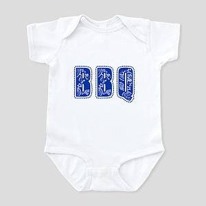 Red White & Blue BBQ Infant Bodysuit