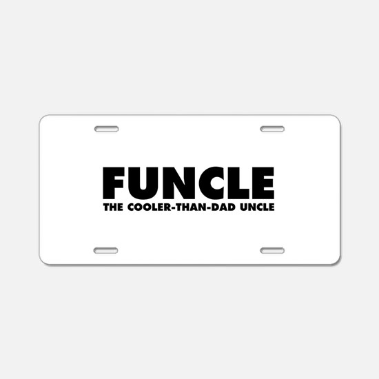 Funcle Aluminum License Plate