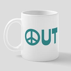 Peace Out Mug