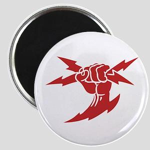 Lightning Fist Magnet