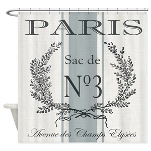 French Shower Curtains