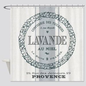 Vintage French Lavender Shower Curtain