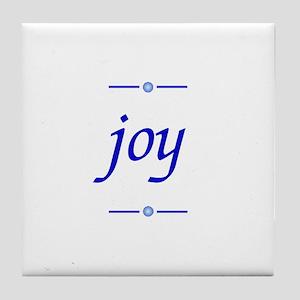 Joy Tile Coaster