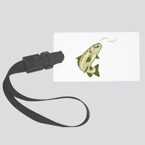 Salmon Luggage Tag