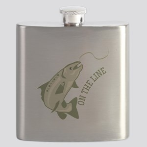On The Line Flask