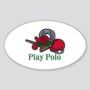 Play Polo Sticker