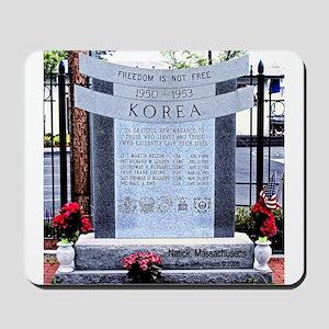 Korean War Memorial, Natick, Mousepad