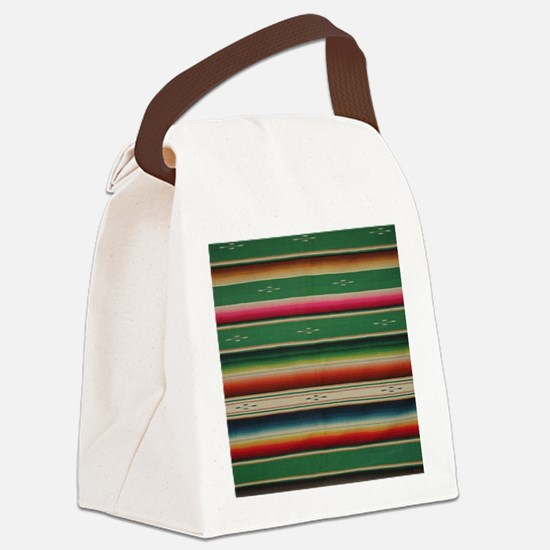 Unique Serape Canvas Lunch Bag