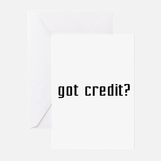 Got Credit? Greeting Cards (Pk of 10)