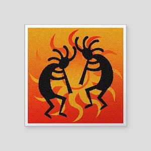 Kokopelli Sunset Sticker