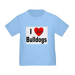 I Love Bulldogs T