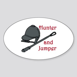 Hunter and Jumper Sticker