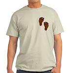 Tribal Toes Light T-Shirt