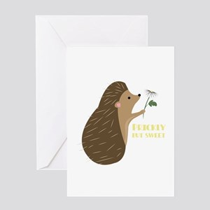 Prickly But Sweet Greeting Cards