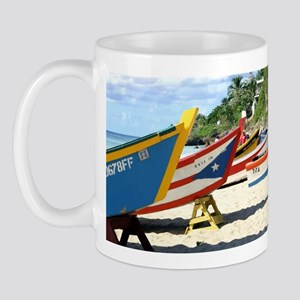 Fishing Boats, Puerto Rico Mug