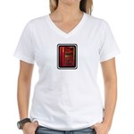 INSERT COIN TO PLAY Women's V-Neck T-Shirt