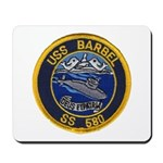 USS BARBEL Mousepad