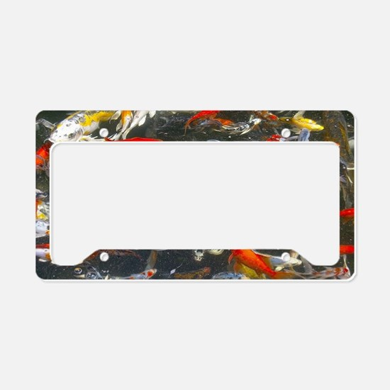Cute Pond License Plate Holder