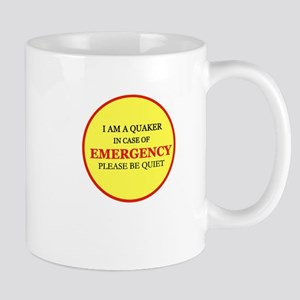 Quaker - In Case of Emergency Mug