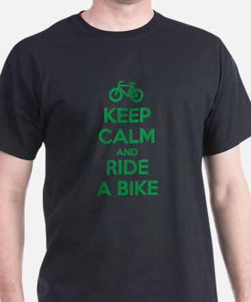 Cute Keep calm and ride on%2ct T-Shirt